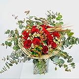 Ramo de rosas Cardona - Flores RECIÉN CORTADAS y NATURALES de Gran Tamaño - ENTREGA EN 24h con Dedicatoria Personalizable Gra