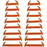 Mauea Elasticità Cravatta Lacci Scarpe Per Adulti e Bambini Impermeabile Set Elastico In Silicone Di Prova Del Panno Del Pizz