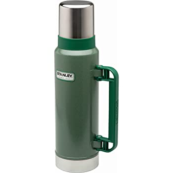 Stanley Classic Extra Large Stainless Steel Flask Vacuum Bottle 2QT//1.9ltr Green