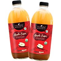 Neuherbs Certified Organic Apple Cider Vinegar with Mother 500 ML: Pack of 2
