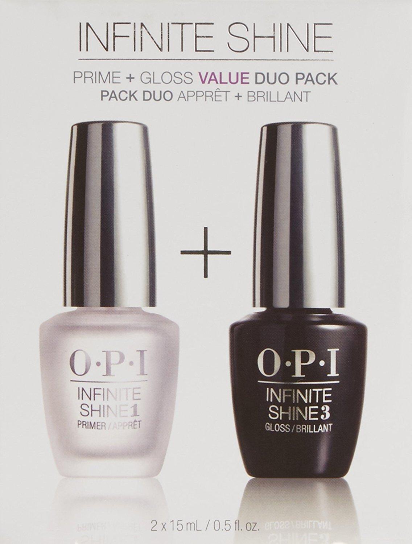 OPI Infinite Shine Set De Primer Y Brillo – 2 Unidades x 15 ml.