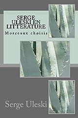 Serge ULESKI en littérature Format Kindle