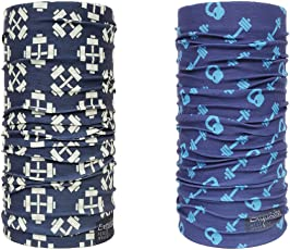 Noise Max Out and Dumbbell Set Exquisite Bandana/Headwrap ( PACK OF 2 )