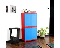 Cello Novelty Big Cupboard - Red and Blue