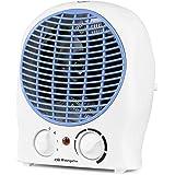 Orbegozo FH 5525 - Calefactor, 2 niveles de potencia, función ventilador aire frío, calor instantáneo, termostato regulable,