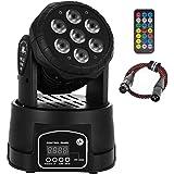 AONCO 100W DMX512 LED lichteffecten Discolicht Mini 4 in 1 RGBW Partylicht met professionele 9/14 5 Control Mode Moving Head
