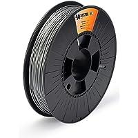 Basicfil PLA 1.75mm, 500 gr filament pour imprimate 3D, Argent