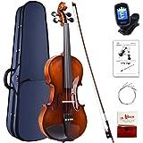 Aileen Violon 4/4 Adulte, Violin Débutant avec Aspect Antique Brillant