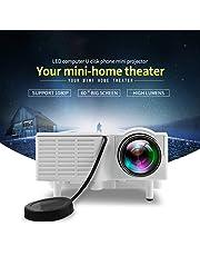 Unic UC28 Mini Pico Full hd Input LED Projector Home Cinema Theater 1080