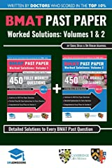 BMAT Past Paper Worked Solutions: 2003 - 2017, Fully worked answers to  900+ Questions, Detailed Essay Plans, BioMedical Admissions Test Book: BMAT ... BioMedical Admissions Test, UniAdmissions Paperback