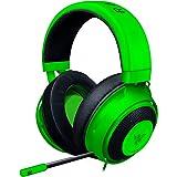 Razer Kraken Gaming Headset Cuffie On-Ear Cablate Per Il Gaming Multipiattaforma Per PC, PS4, Xbox One/Switch, Driver Da 50 Mm, Cavo Audio Da 3.5 Mm Con Controlli Su Filo, Verde
