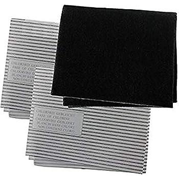 spares2go hotte universel carbone graisse filtre kit pour. Black Bedroom Furniture Sets. Home Design Ideas
