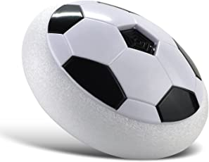 Bighub Indoor Air Power Soccer Kids Football Disk with Foam Bumpers and Light up led Light .