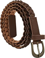 Jainsons Women's Belt (1034 BRN_Brown_FREE SIZE)