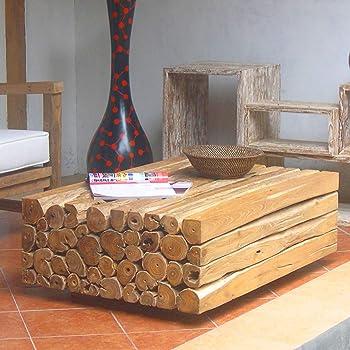 Möbel Bressmer Bambus Couchtisch Wohnzimmertisch Bambustisch
