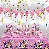 BESLIME Forniture for Feste di Compleanno for Bambini Cartone Animato A Tema Stoviglie USA E Getta Piatto di Carta Cappello S