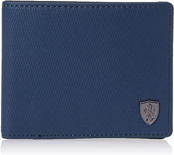 Puma Ferrari LS Wallet- Dark Blue Denim, Blue(Blue)- 0