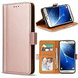 Bozon Galaxy J5 2016 Hülle, Leder Tasche Handyhülle Schutzhülle für Samsung Galaxy J5 (2016) Flip Wallet mit Ständer und…
