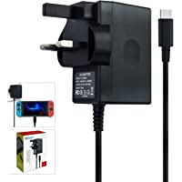 Charger for Nintendo Switch & Lite, AC adapter Compatible wi...