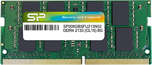 Silicon Power 8GB Memory Module for Laptops 8 DDR4 2133 PC4 2133 SO-DIMM SP008GBSFU213N02