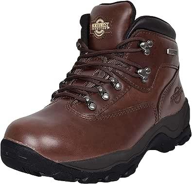 Northwest Territory Inuvik Men's Hiking/Walking Leather Waterproof High Rise Boots