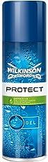 Wilkinson Sword Rasiergel Herren Protect Sensitive, 200 ml, 3 St