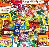 Sortiment amerikanische Süßigkeiten. USA Süßwaren, Vielzahl an amerikanischen Süßigkeiten, ca. Gewicht: 450g.