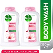 Dettol Skincare Anti-Bacterial Body Wash 250ml Twin Pack At 35% Off