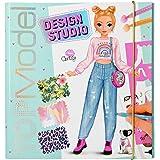 Depesche 11251 Create your TOPModel Design Studio - Libro para colorear (26 x 25 x 2,5 cm)