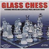 شطرنج قطع زجاجية، شفاف