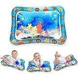 Keten Opblaasbare Waterspeelmat, Opblaasbaar Perfect Sensorisch Speelgoed voor 3 6 9 Maanden Kinderen en Baby's, BPA-vrij Leu