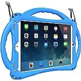 "TopEsct 2018/2017 Edición iPad 9.7""/ iPad Air Funda para Niños,Shock Proof Material Silicona con Manija para Apple iPad 5th/6"