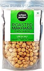Urban Platter Roasted Makhana, Malabar Curry Leaves, 100g