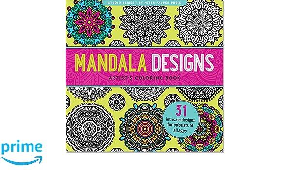 Modern Art Nouveau An Artists Coloring Book Sacred Mandala