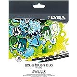 Lyra L6521240 - Astuccio 24 Pennarelli Aquabrush Duo, 24 Pezzi