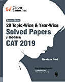CAT 2019 - 29 Topic-wise & Year-wise Solved Papers 1990-2018