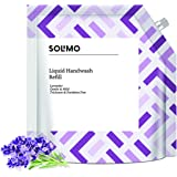 Amazon Brand - Solimo Handwash Liquid Refill, Lavender - 1500 ml