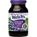 Welch's Grape Jelly 510 g (Pack of 6)