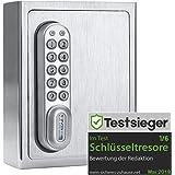 masunt Sleutelkluis 1120 E Code   innovatieve online code op afstand   elektronische sleutelkluis uit massief RVS AISI 304  