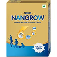 Nestle NANGROW Nutritious Milk Drink for Growing Children, Creamy Vanilla - 400g Bag in Box