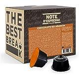 Note d'Espresso - Orange Chocolat - Capsules Exclusivement Compatibles avec les Machines NESCAFE* DOLCE GUSTO* - 48 caps