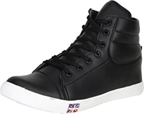 Knight Ace Men's Synthetic Tick Sneakers