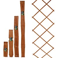 Marko Gardening 6FT Expanding Trellis Wooden Adjustable Expandable Garden Outdoor Climbing Plant (30cm x 180cm (1FT x 6FT))