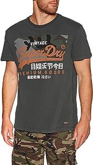 Superdry Premium Goods Camo Short Sleeve T-Shirt