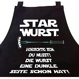 STAR WURST Grillschürze Lustige Geschenke für Männer