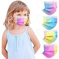 Acewin 50 Stück Kindermasken Medizinisch für Jungen und Mädchen, Gesichtsmaske Einweg Kinder CE Zertifiziert 3 lagig…