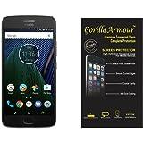 Gorilla Armour Premium Tempered Glass for Motorola Moto G5 Plus | 0.3 mm Thin, Oil Coated Tempered Glass for : Motorola Moto