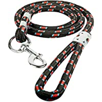 MS Petcare Durable Rope Training Leash for Small, Medium, Large, Giant Sized Dogs, with Strong Hook Multi Size & Multi…