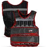 Xn8 Gewichtsvest - Gewichtdragende vest 10Kg, 15 Kg, 20 Kg Verstelbaar Voor GewichtsverminDering Krachttraining, Hardlopen, F