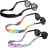 Hifot lunettes de soleil sangle 3 style, Flottante Chaînes et cordons à lunettes, rapide sèche lunettes néoprène cordon